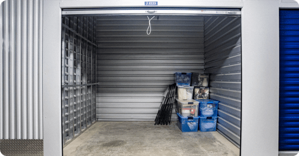 medium size self storage unit at Accurate Self Storage in Seal Beach CA